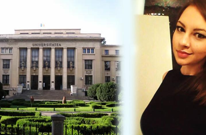 Andrada, prima admisă la Facultatea de Drept, Universitatea din București
