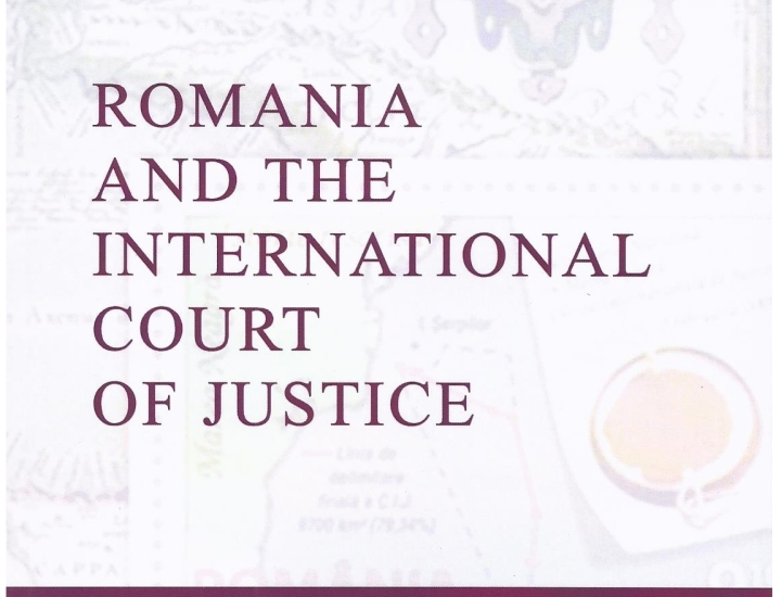 "Lansare de carte – Bogdan Aurescu, ""Romania and the International Court of Justice"""