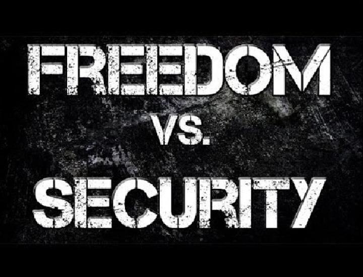 Între povara libertății și securitate