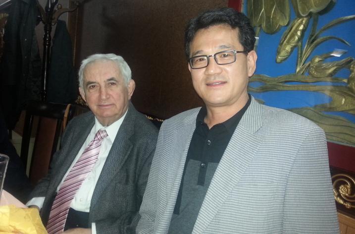 Civilizația românească din perspectivă coreeană cu domnul profesor Jeong O. Park