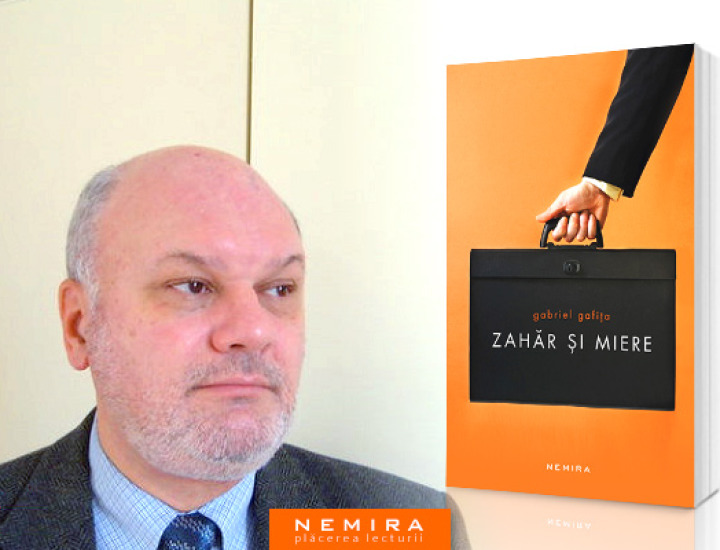 """Lansare de carte – Gabriel Gafița, """"Zahăr și miere"""""""