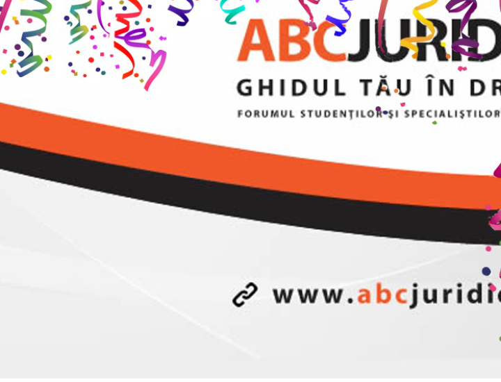 ABC Juridic aniversează un an de la lansare