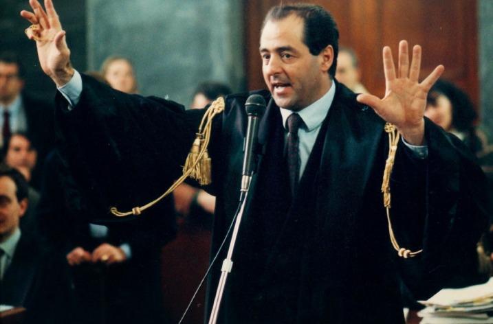 Celebrul procuror anticorupţie, Antonio di Pietro, la Facultatea de Drept, Universitatea din Bucureşti