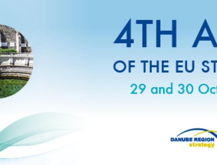 Participarea ministrului Bogdan Aurescu la cel de-al IV-lea Forum Anual al Strategiei UE pentru Regiunea Dunării