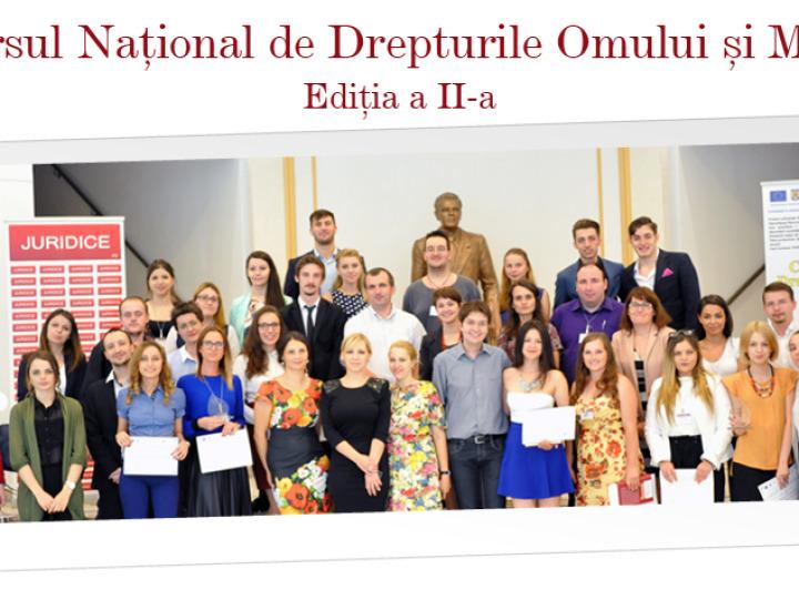 Concursul Național de Drepturile Omului și Migrație, organizat de Universitatea Româno-Americană