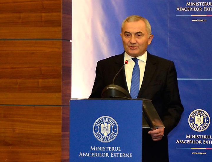 Mesajul ministrului afacerilor externe Lazăr Comănescu cu ocazia Zilei Naţionale a României
