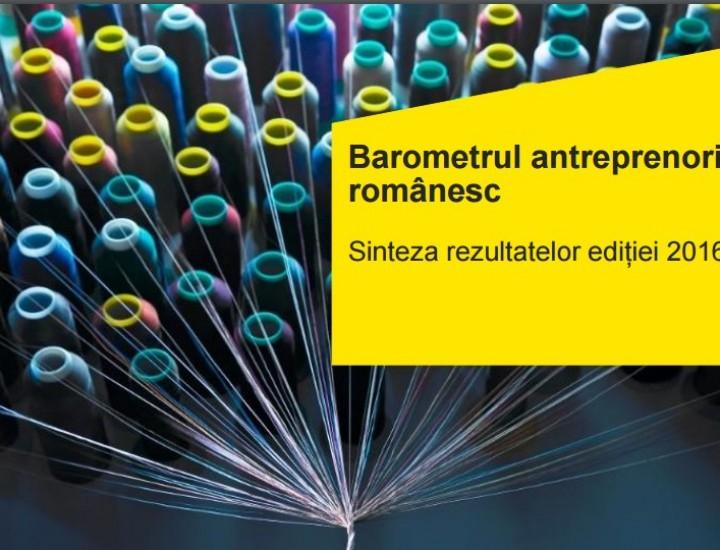 Studiu EY: Barometrul antreprenoriatului românesc 2016