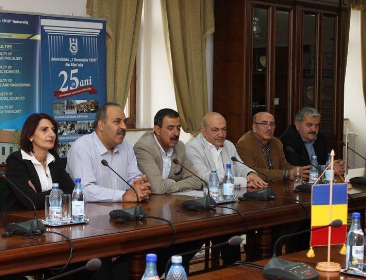 Universitatea din Alba Iulia a primit vizita Ambasadorului Palestinei în România. 40 de studenți internaționali așteaptă vizele pentru a studia la UAB  , Unirea