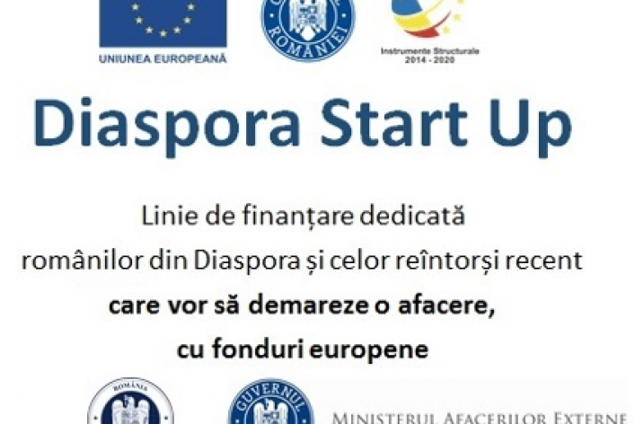 Ministerul Fondurilor Europene: 30 milioane de euro pentru românii din diaspora care vor să deschidă o afacere în țară