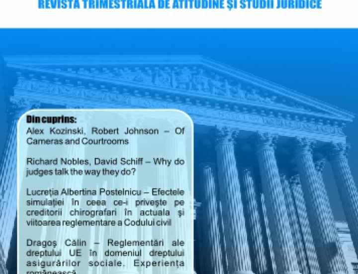 Cuvinte neînsemnate despre români și despre justiție
