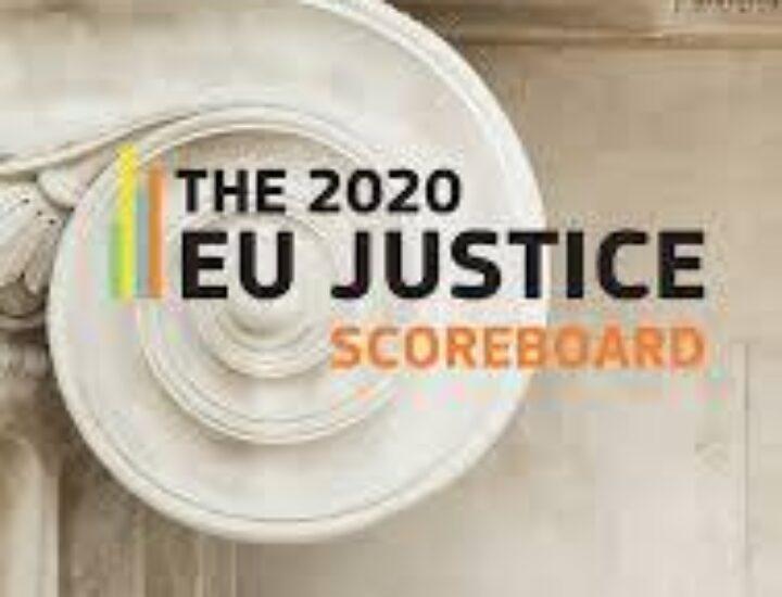 The 2020 EU justice scoreboard